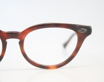 VintageTortoise Cat Eye Glasses vintage Eyewear Retro Glasses