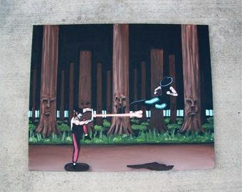 "Mortal Kombat 2 Painting 24"" X 30"""