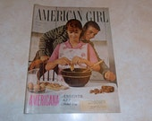 Vintage Magazine - American Girl Magazine November 1963 - Girl Scouts - Vintage Fashion - Teen Magazine - Scouting - Vintage Advertising