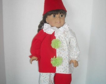 "American Girl  18"" Doll Clown Costume and Accessories"