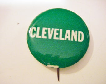 Cleveland Political Campaign Pinback