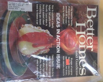 Better Homes and Gardens Ladies Magazine