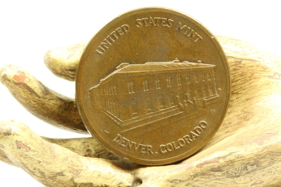 Bronze United States Mint Denver Colorado The Department Of The Treasury - 1789 Coin