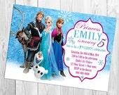 Disney Frozen Birthday Invitation