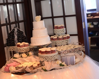Wedding head table, custom made tutu table skirt, tulle table skirt