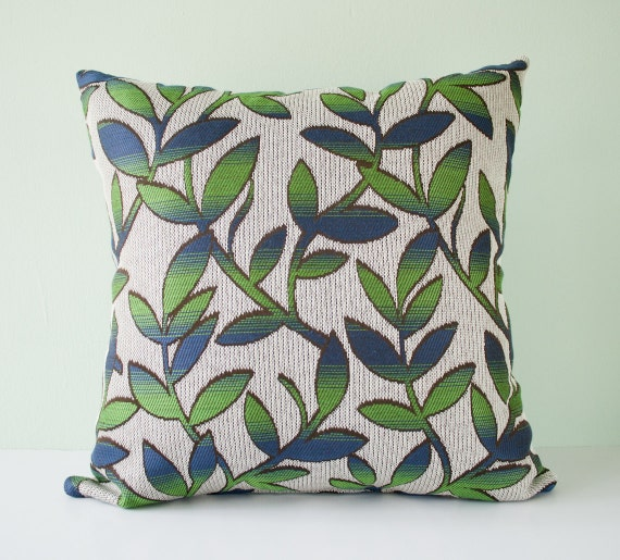 Modern Pillow Covers Etsy : Items similar to Modern accent pillow cover / trees pillow / leaves pillow / branches pillow ...