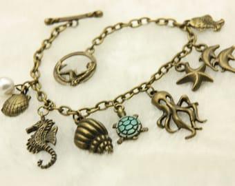 Sea ocean mermaid Bracelet jewelry
