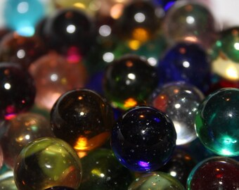 Transparent Marbles,Clear Marbles,Colorful Marbles,Glass Marbles,Bulk Lot of Marbles, Craft Supples,christmas gift
