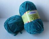 Yarn Sale  - Teal Chenille yarn by Herrschners
