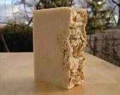 Oat, Goats Milk and Honey Soap, Natural Bar Soap, Moisturizing Soap, Scrubbing Soap, Acne Soap, Exfoliating Soap, Sensitive Skin Soap