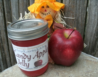 Jelly Candy Apple,homemade fruit spread Handcrafted, Deliciously Sweet homemade jam and jelly fruit preserves