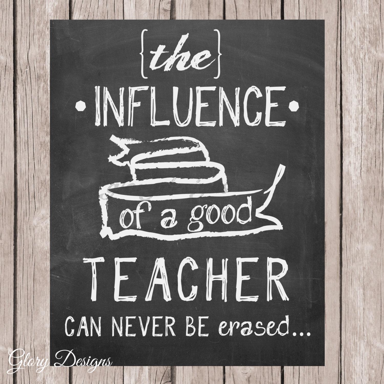 Teacher Appreciation Gift Teacher Quote Teacher By