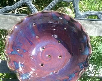 Berry bowl colander strainer