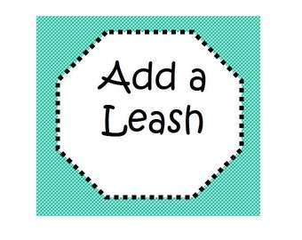 4FT, 5FT or 6 FT Dog Leash - Leash to go with Your Collar - Available in all Fabrics Listed Under Dog Collars