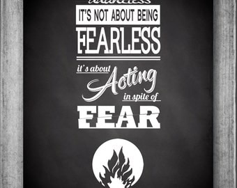Divergent Quotes Being Fearless. QuotesGram