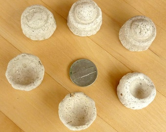6  beach finds  MYSTERY SEA POTTERY Objects  Antique Scottish