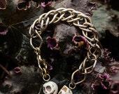 Two Skull Bracelet
