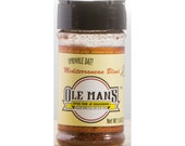 Ole Man's Spice Rub & Seasoning - Mediterranean Blend 1.9 oz-Free Shipping