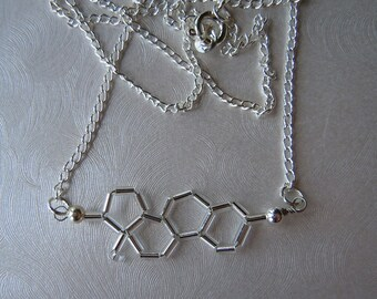 Biolojewelry - Mini Estrogen Necklace