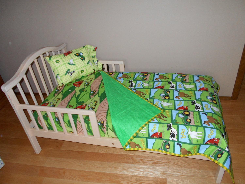 Farm Tractor Crib Bedding
