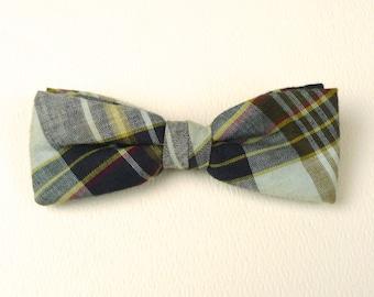 Plaid Madras Bow Tie Vintage