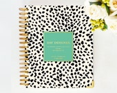 January 2015 DAY DESIGNER - Spotty Dots - Yearly Planner & Daily Agenda, Calendar, Organizer