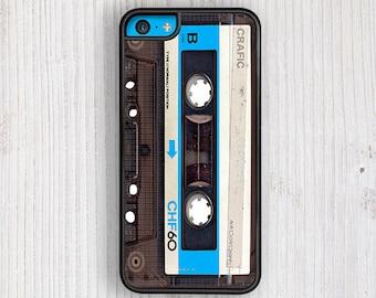 Blue Vintage Cassette iPhone 6s case, iPhone 6 Plus case, iPhone 5S case, iPhone 5C cases, iPhone 7 case