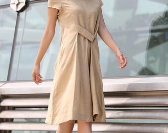 Summer Linen Dress (C262)