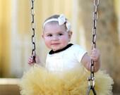 Baby Musturd Tutu Skirt
