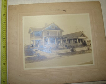vintage b/w/ black and white photo photograph new orleans home