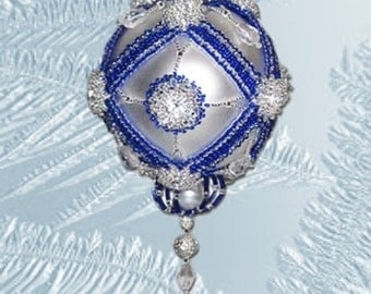 Beaded ornament kit - Starburst - pay with Paypal and get a 3 dollar rebate
