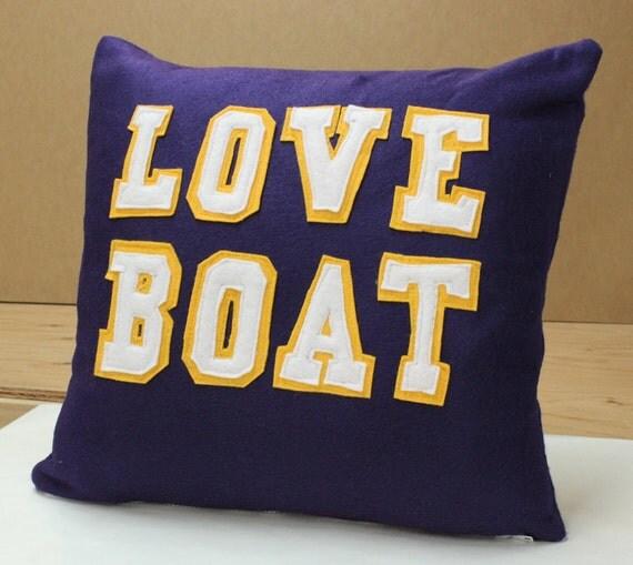 Minnesota Vikings Love Boat Pillow
