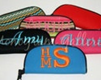 Monogrammed Sunglass/EyeGlass Case NEW PATTERNS ADDED!!!