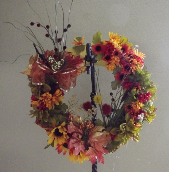 Items Similar To Sale Fall Wreath Or Autumn Wreath