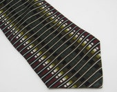 Vintage Silk Tie Louis Feraud Wide Tie