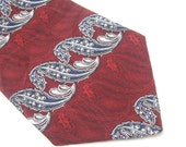 Vintage Silk Tie Evan Picone Wide Tie Mens Fashion