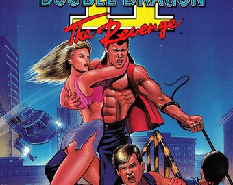 "Double Dragon II 18 x 24"" Video Game Poster"