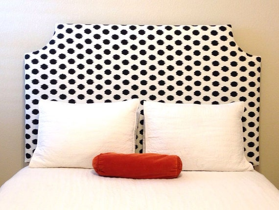 Double/Full Custom Fabric Headboard