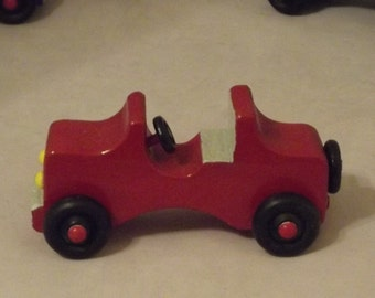 WOODEN JEEPS  made for small kids