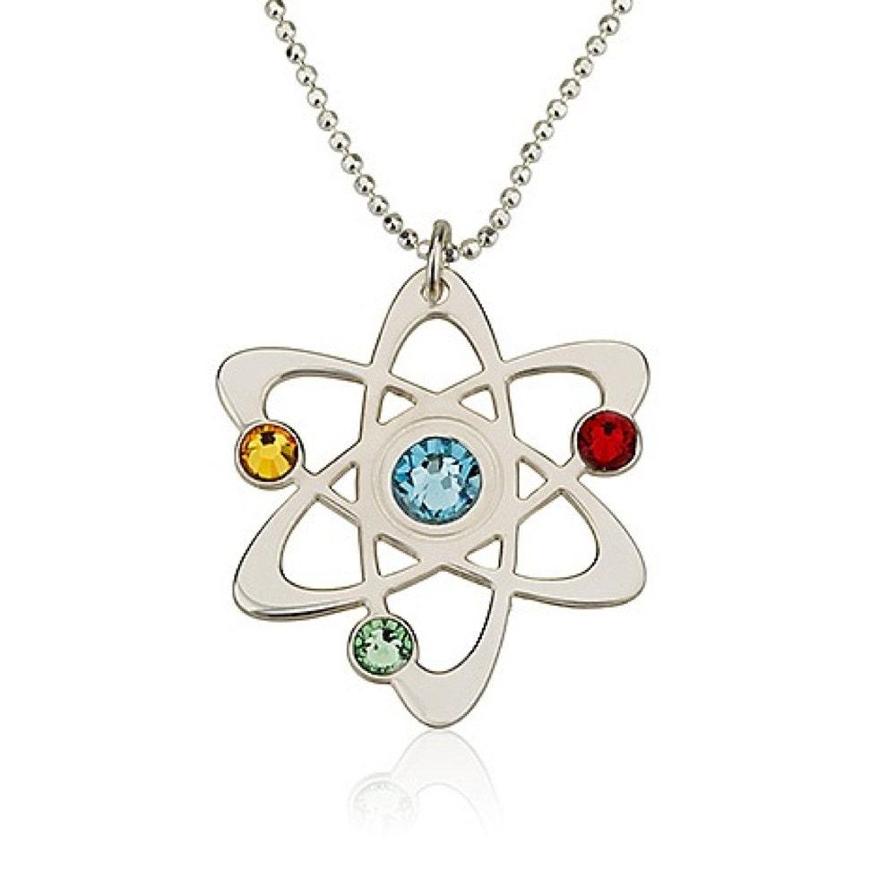 science symbol necklace chemistry necklace by