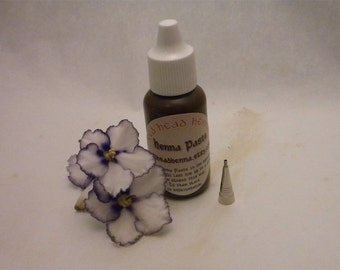 Henna Paste RedHead Caravan - Natural and Ready to Use Henna Paste in an Applicator Bottle