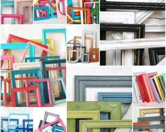 FRAME Collection MADE to ORDER Perfect for Nursery, Kids Room, Playroom custom frame sets children decor