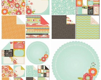 KAISERCRAFT- Spring Bloom Collection 12 x 12 inches