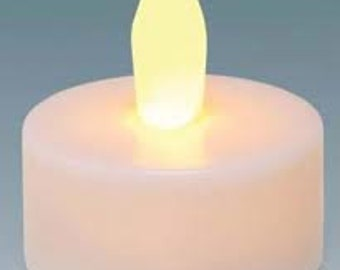 LED Tea Lights (5) - perfect addition for our Luminary