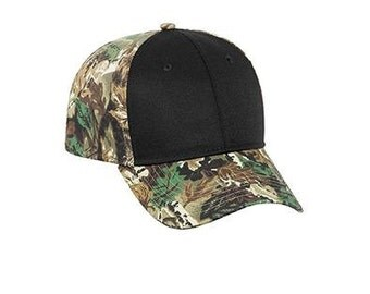 Items similar to sale shut up and fish black white camo for Fishing hats for sale