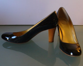 Made in Italy J.Crew Patent Leather Heeled Pumps Size 8.5US