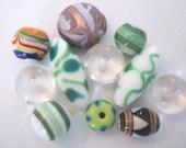 11 Focal Lampwork Beads - Detash