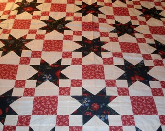 Morning Star Full Sized Quilt
