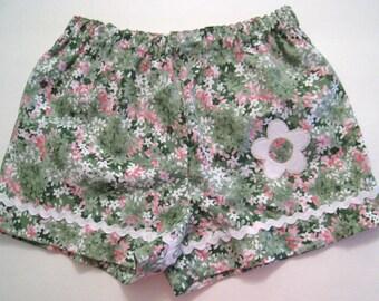 Girls Shorts, Girls floral print, toddler clothing, Shorts, children clothing, children summer, kids outfit, Toddlers shorts, Children