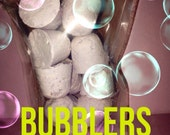 Refill Bag of Solid bubble bath Bubbler drops , approx~ All made with essential oils